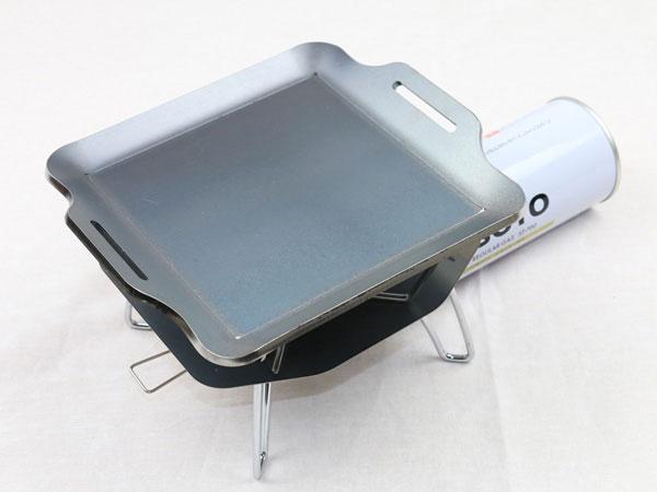 ソト レギュレーターストーブ 対応 グリルプレート スタンダードタイプ 遮熱板付き